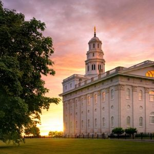nauvoo-temple-late-sunset