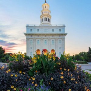 nauvoo-temple-summer-evening