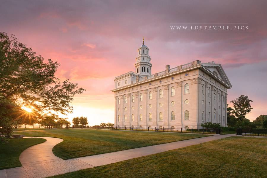 Nauvoo Temple Summer Peace Print