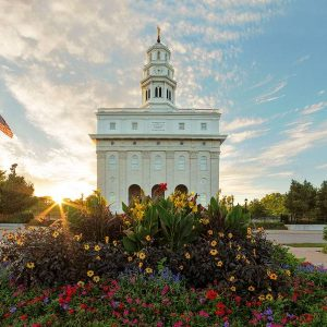 nauvoo-temple-summer-sunset-west