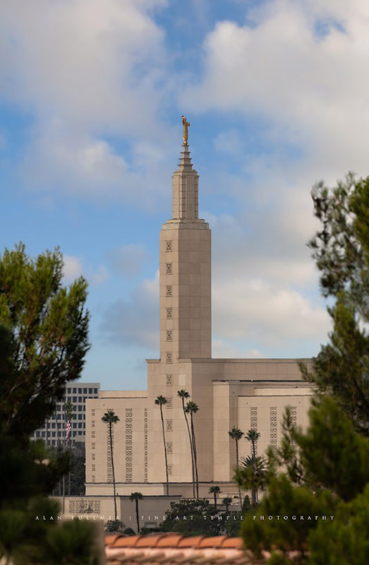 Los Angeles Temple by Alan Fullmer
