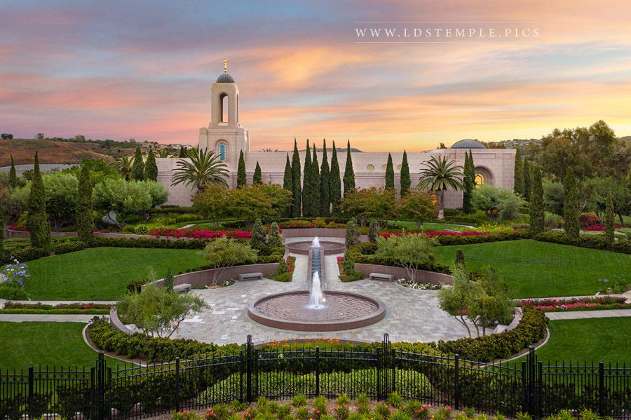 Newport Beach Temple – Heavenly Light