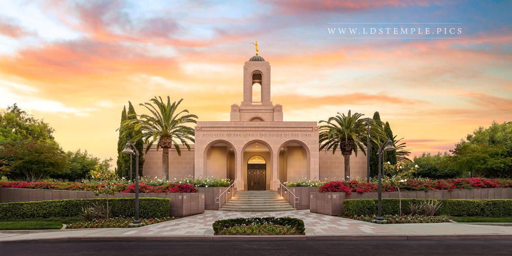 Newport Beach Temple – Summer Sunrise