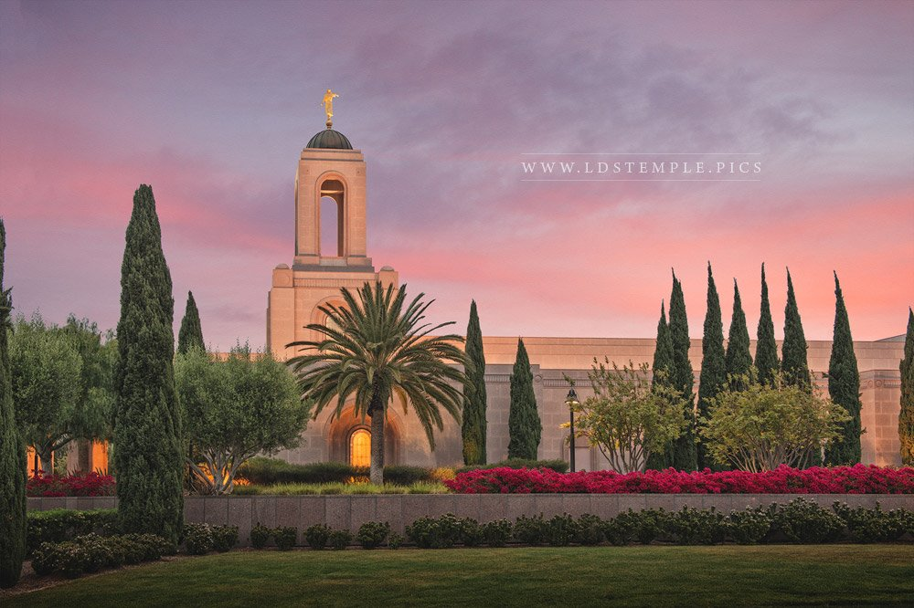 Newport Beach Temple – Sunrise