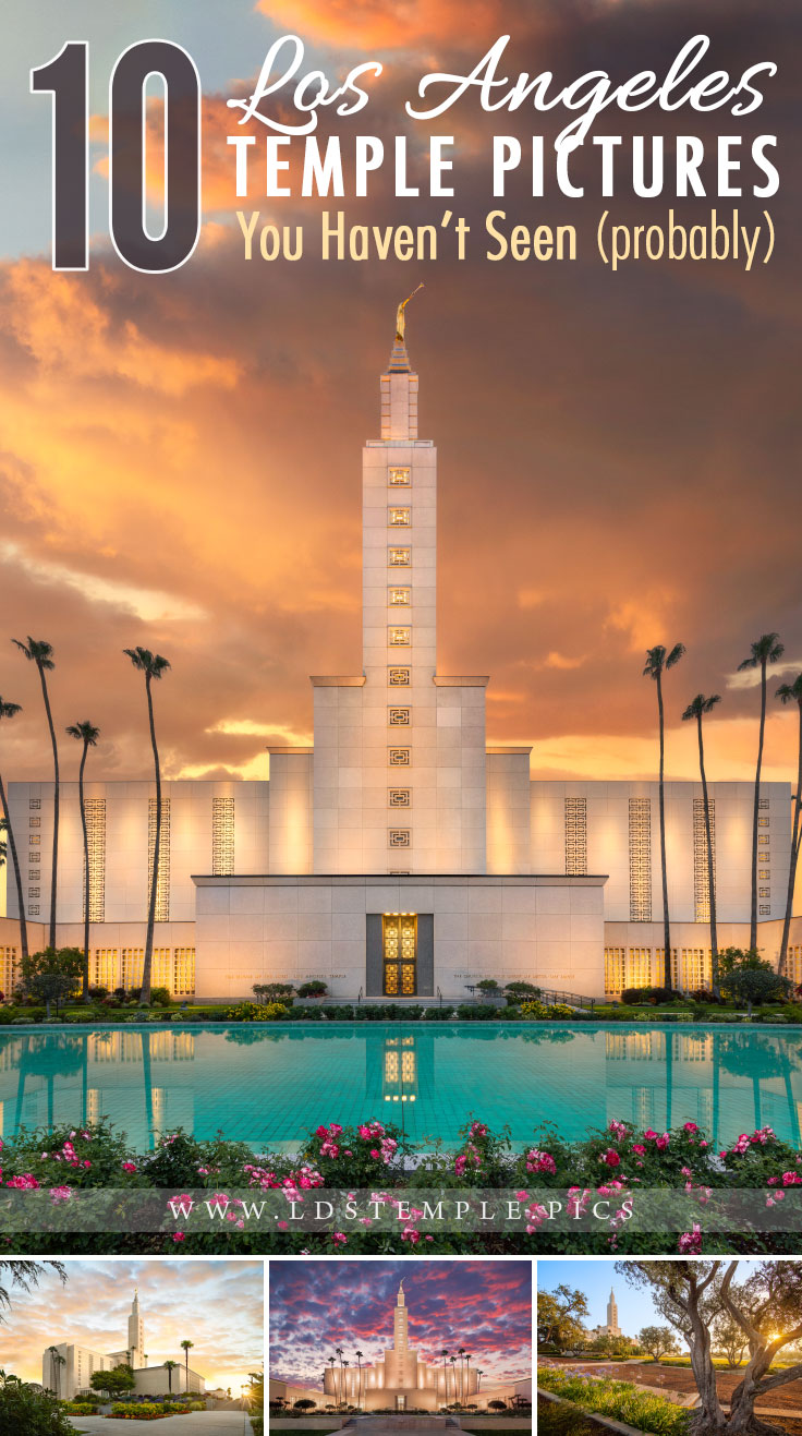 10 Los Angeles Temple Pictures You May Not Have Seen Yet | The majestic Los Angeles California Temple is the 2nd largest temple in the world, and here are ten pictures of the temple you may not have seen yet!