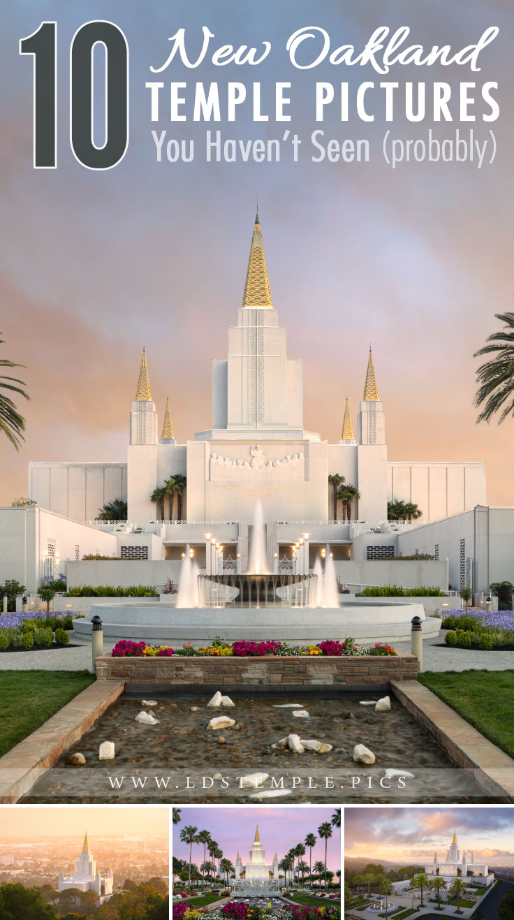 10 New Pictures of the Oakland Temple | The Oakland California Temple was rededicated last month after being closed for a year. Now we wanted to share 10 new pictures of the temple!