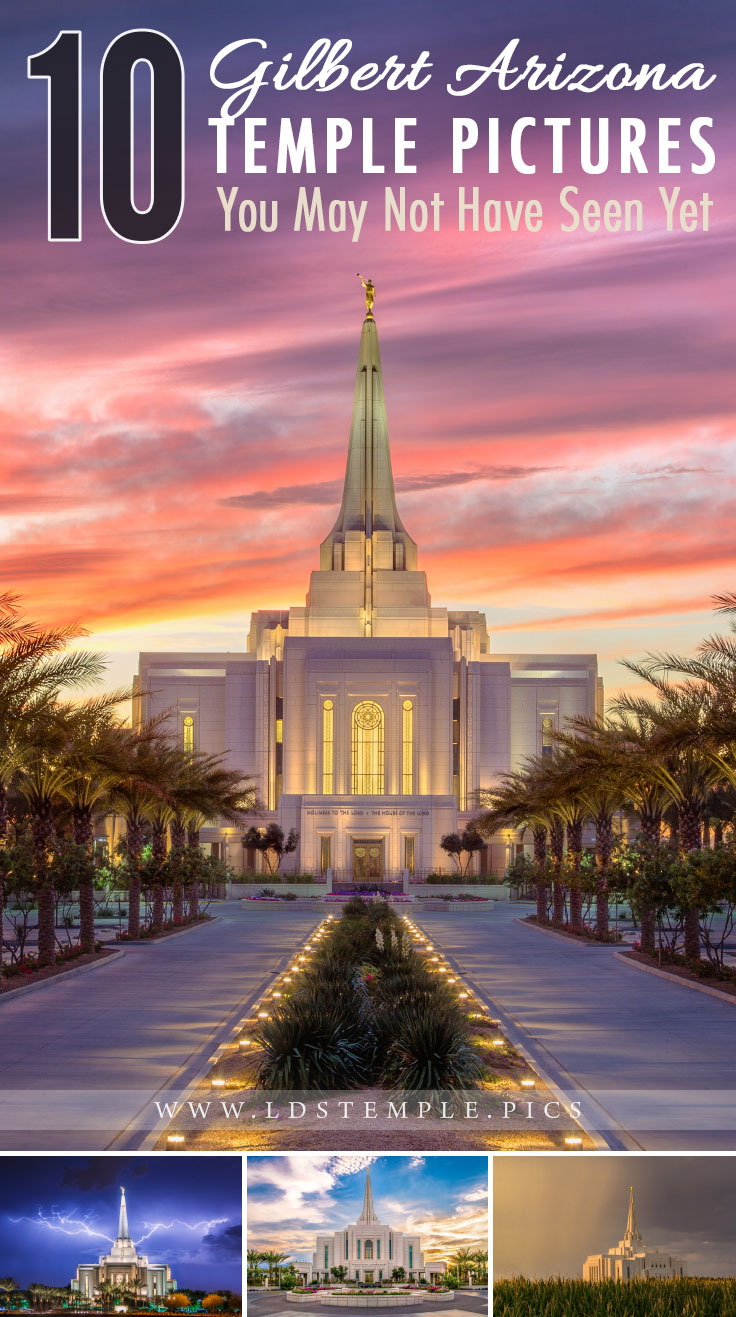 10 Pictures of the Gilbert Temple You May Not Have Seen | The stunning Gilbert Arizona Temple is one of the largest in the Church of Jesus Christ. Here are 10 pictures of it that you may not have seen yet!