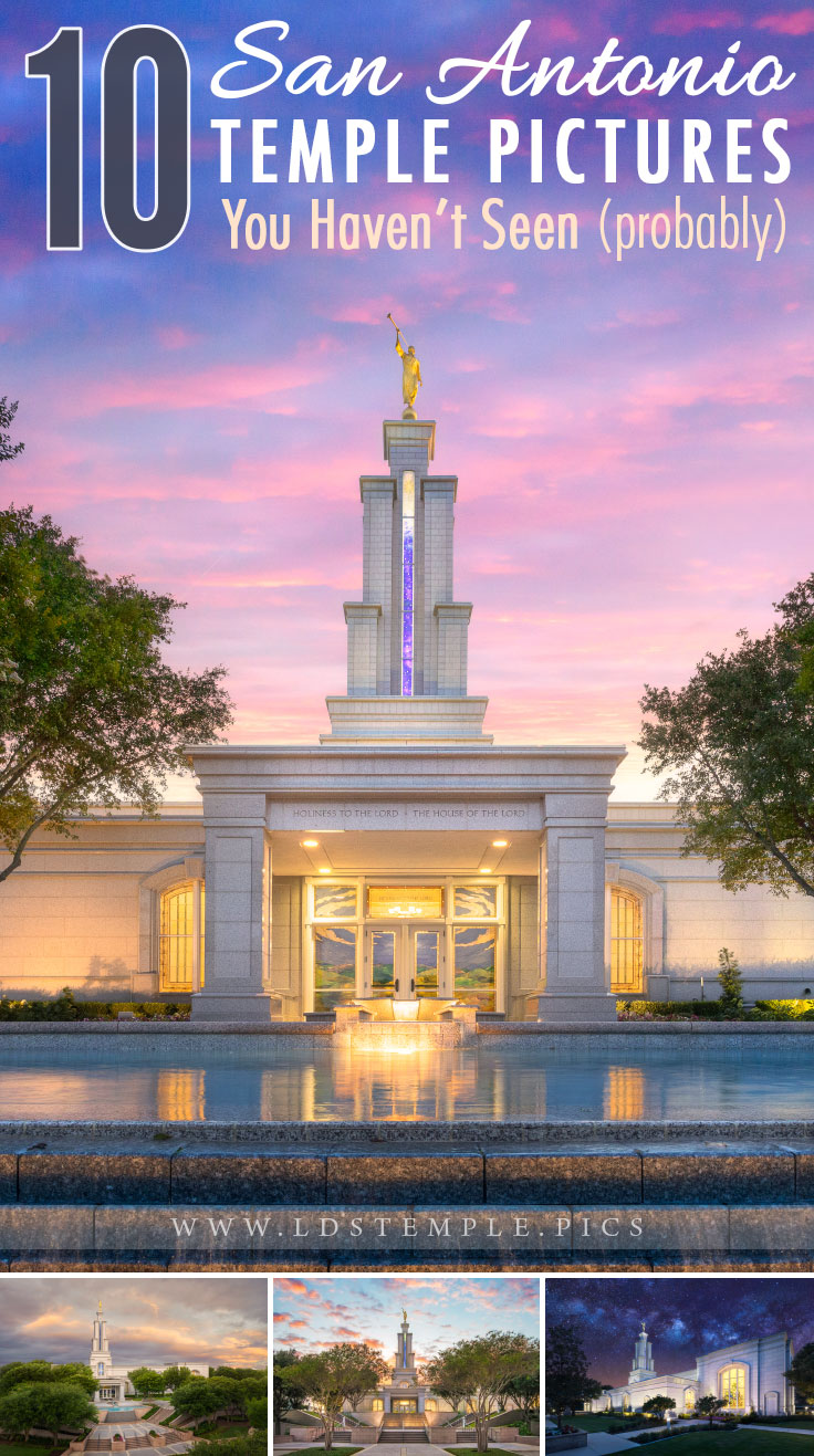 10 Pictures of the San Antonio Temple You May Not Have Seen | With it's beautiful stained glass art windows and unique spire, the San Antonio Texas Temple is a spiritual beacon. And here are 10 pictures you may not have seen.