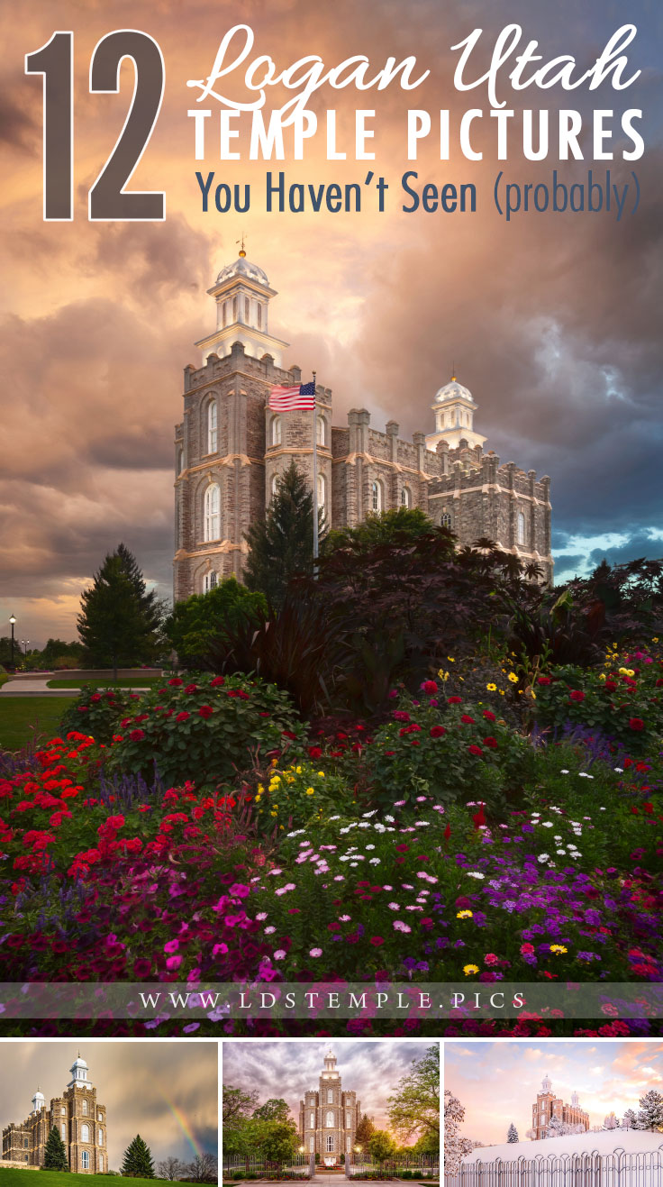 12 More Pictures of the Logan Temple You Haven't Seen Yet | It's been two years since we showcased the beautiful Logan Temple. Now we have so many more amazing photos of the temple that we just had to share with you!