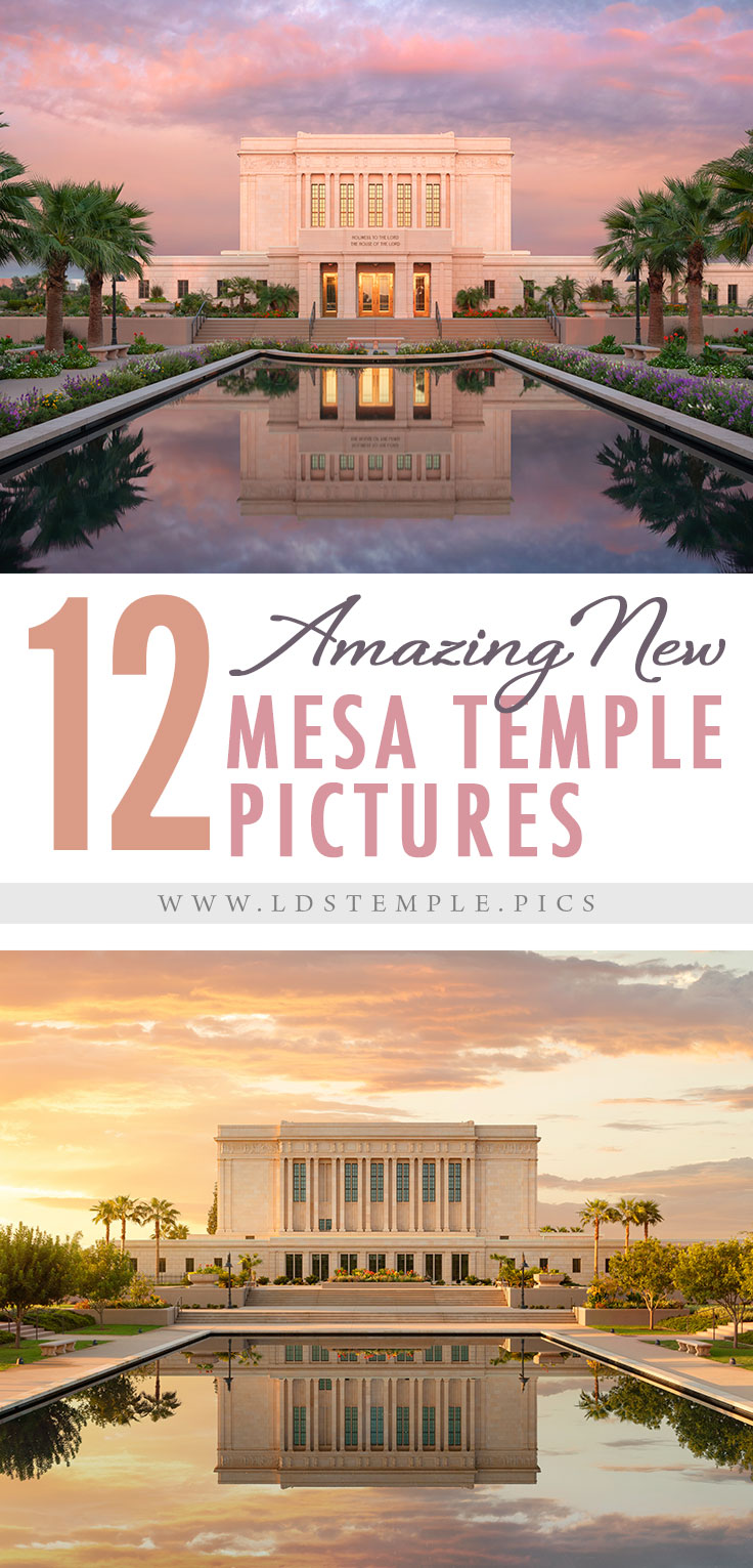 12 Pictures of the Newly-Renovated Mesa Temple & Grounds   After two years of renovation and a year's delay by covid, the Mesa Arizona Temple is ready to be rededicated. And here are 12 new pictures of it!