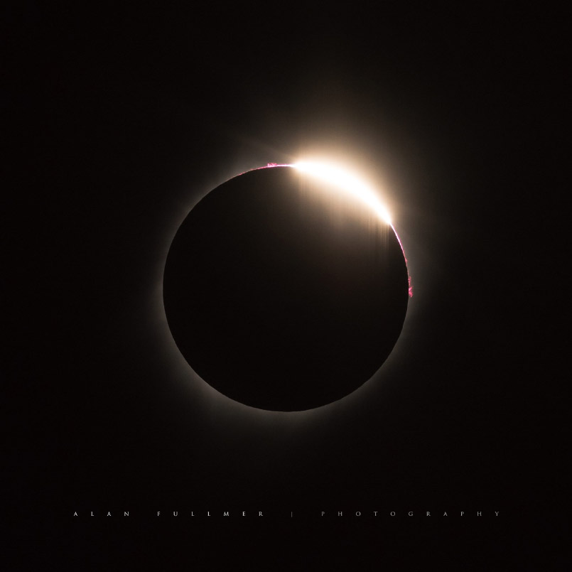 The So-called Diamond Ring Phase During the 2017 Total Eclipse
