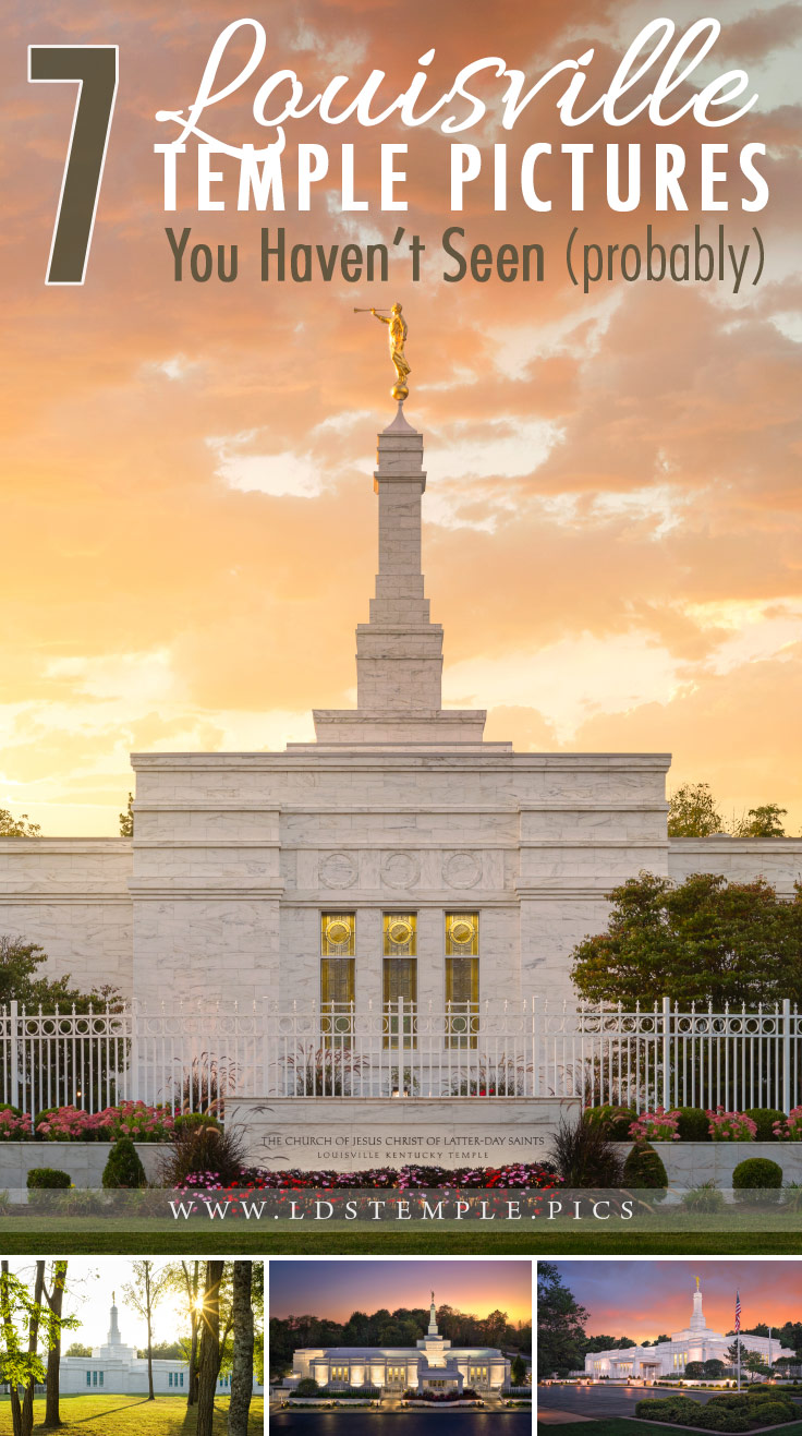 7 Pictures of the Louisville Temple You Haven't Seen (probably) | Dedicated on March 19, 2000, the Louisville Kentucky Temple is a small but beautiful temple surrounded by forest, and here are 7 pictures we wanted to share!