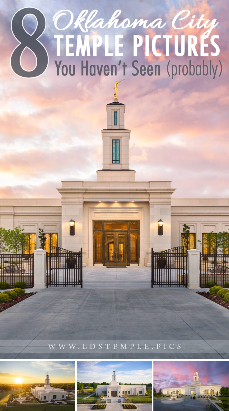 8 Pictures of the New Oklahoma City Temple You Haven't Seen | We love the design of the newly-remodeled and renovated Oklahoma City Oklahoma Temple! Here are 8 new pictures of the temple that you haven't seen yet.