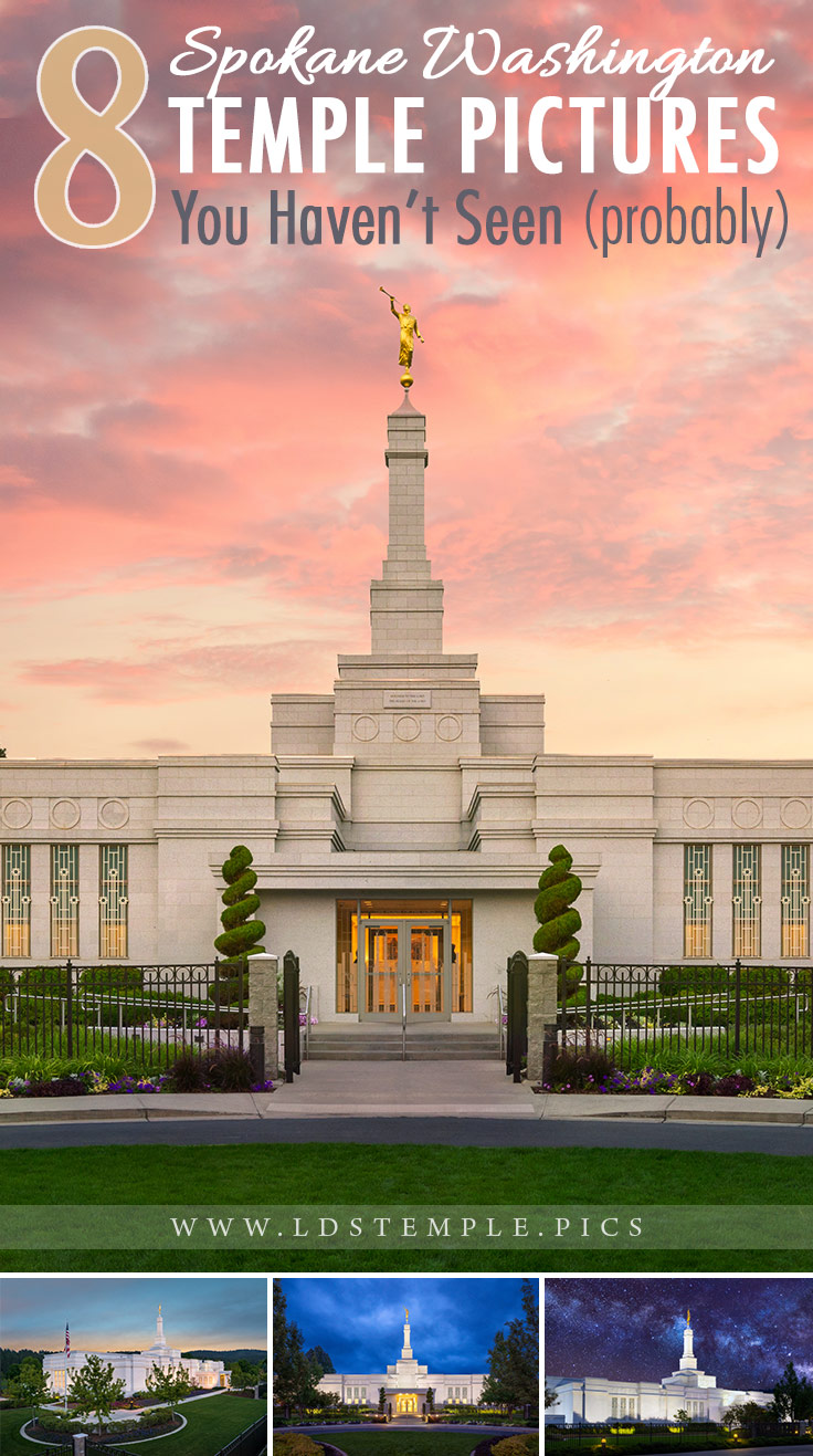 8 Pictures of the Spokane Temple You Haven't Seen Yet | Announced in August 1998, the Spokane Washington Temple was one of many small temples that were built around this time. And here are 8 new pictures you haven't seen yet.