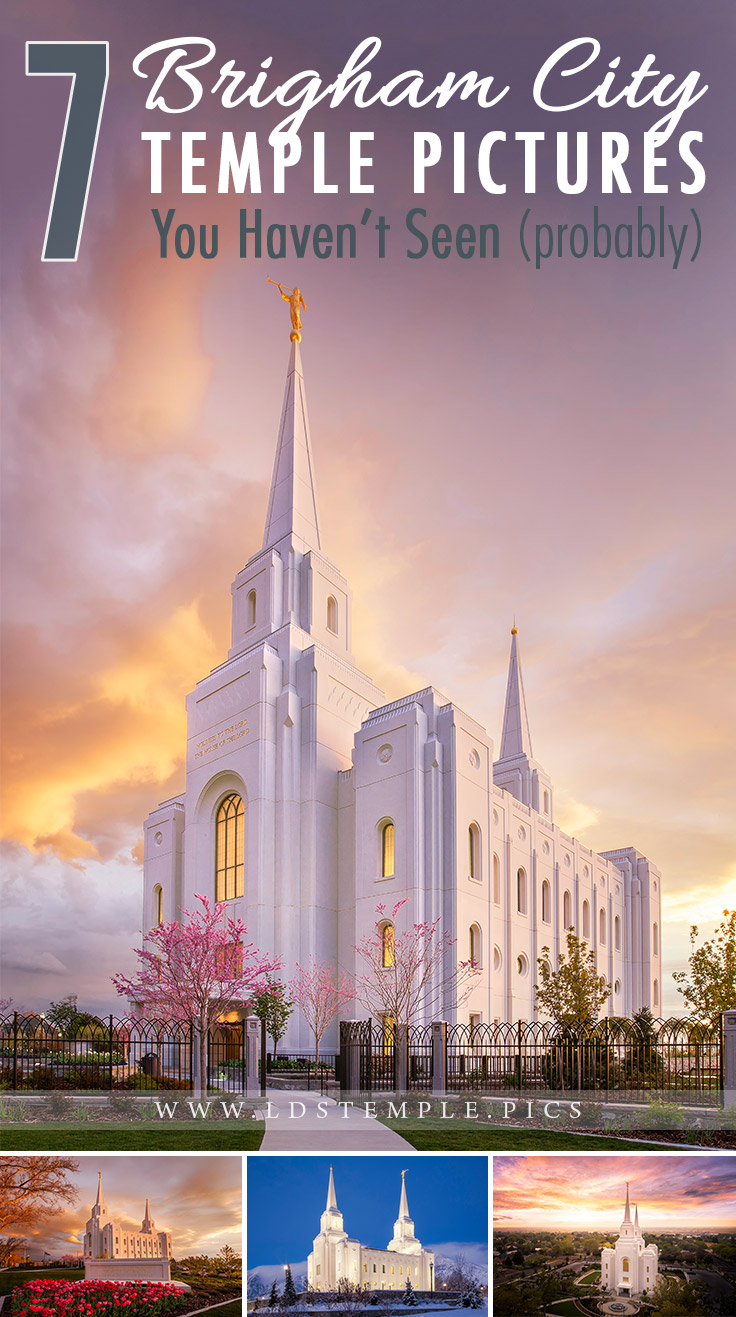 7 pictures of the brigham city temple you haven�t seen