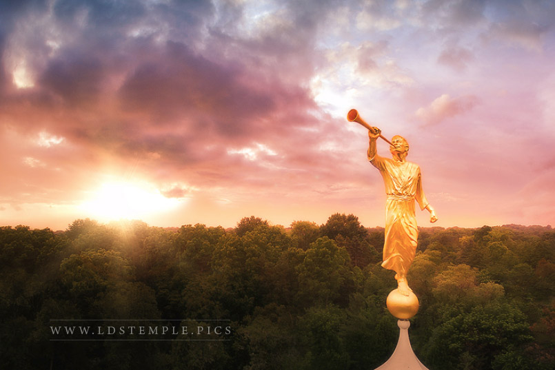 why the angel moroni tops most lds temples lds temple pictures