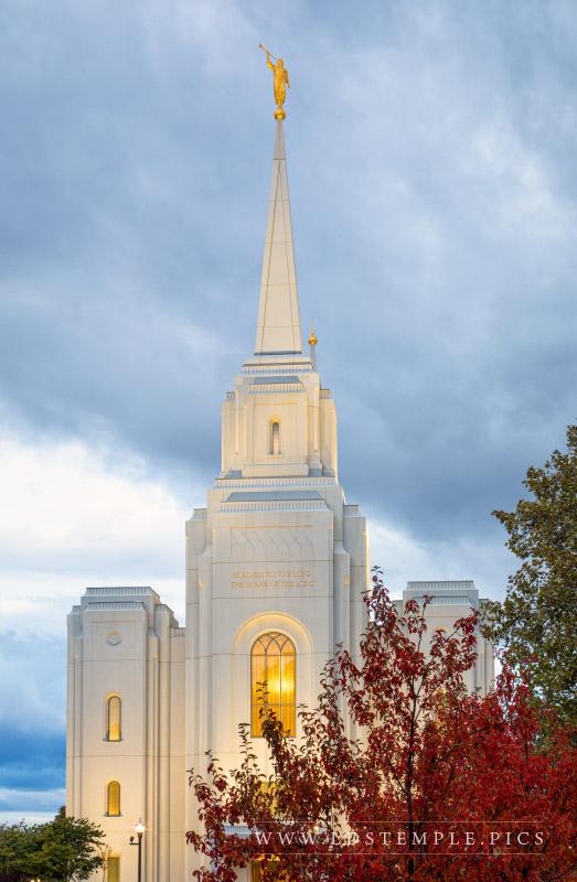 Brigham City Temple by Bret Barton