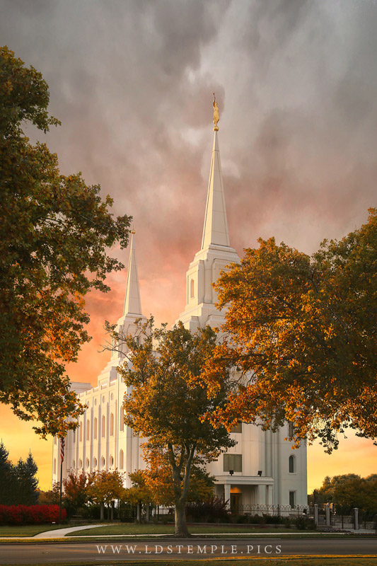 Brigham City Temple by Megan Kelly