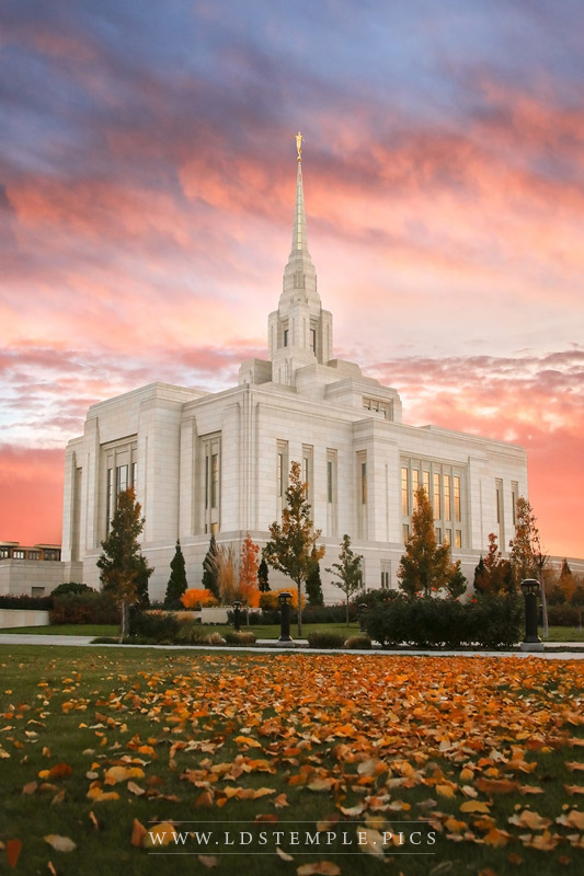 Ogden Temple by Megan Kelly