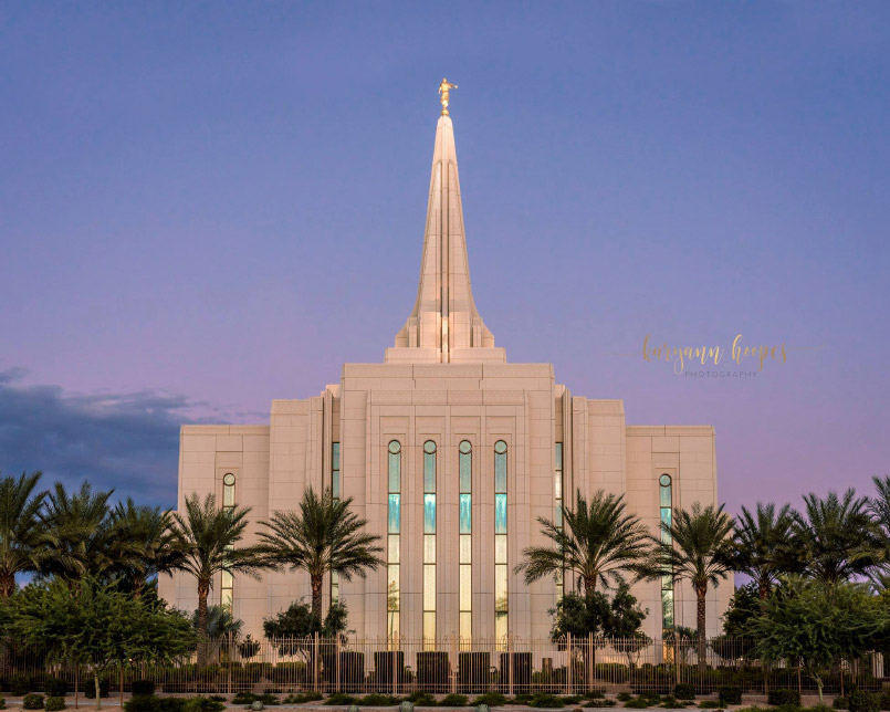 Gilbert Temple by Karyann Hoopes
