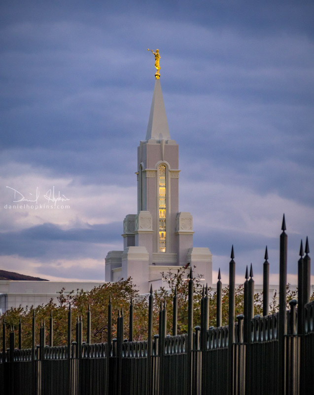 Mt. Timpanogos Temple by Daniel Hopkins