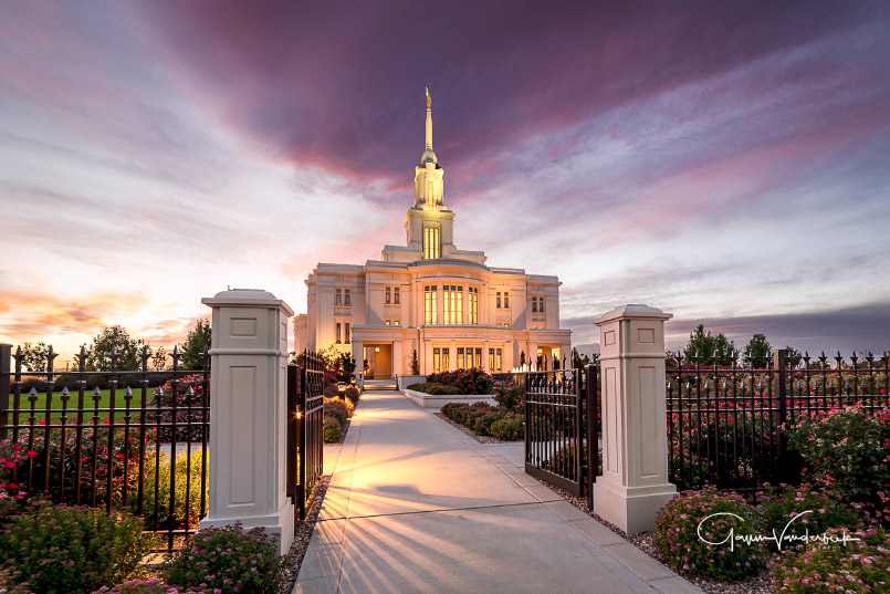 Payson Temple by Gavin Vanderbeek