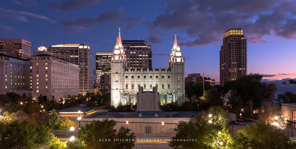 Salt Lake Temple by Alan Fullmer
