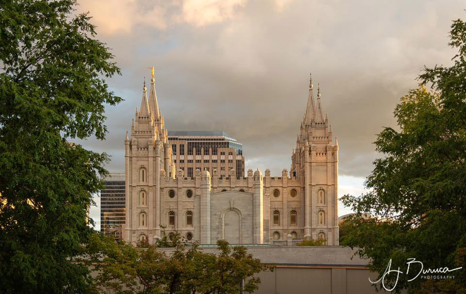 Salt Lake Temple by AJ Buruca