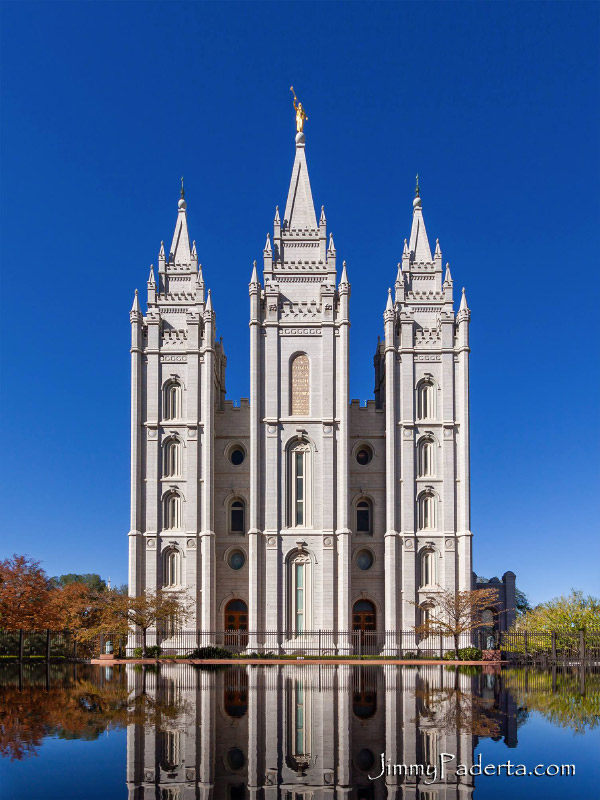 Salt Lake Temple by Jimmy Paderta