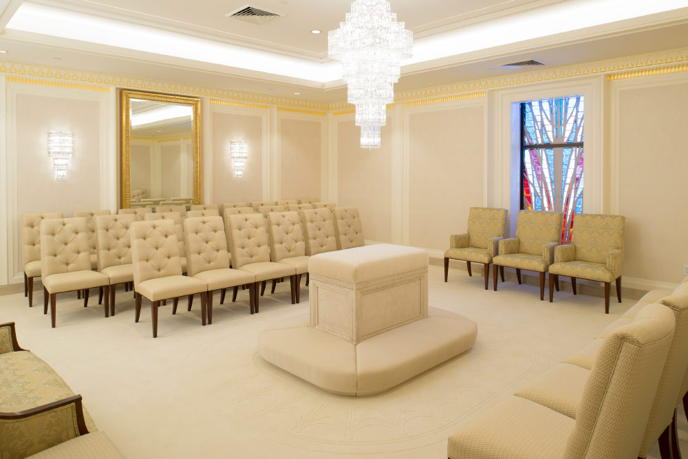 The First Look Inside The Renovated Jordan River Temple