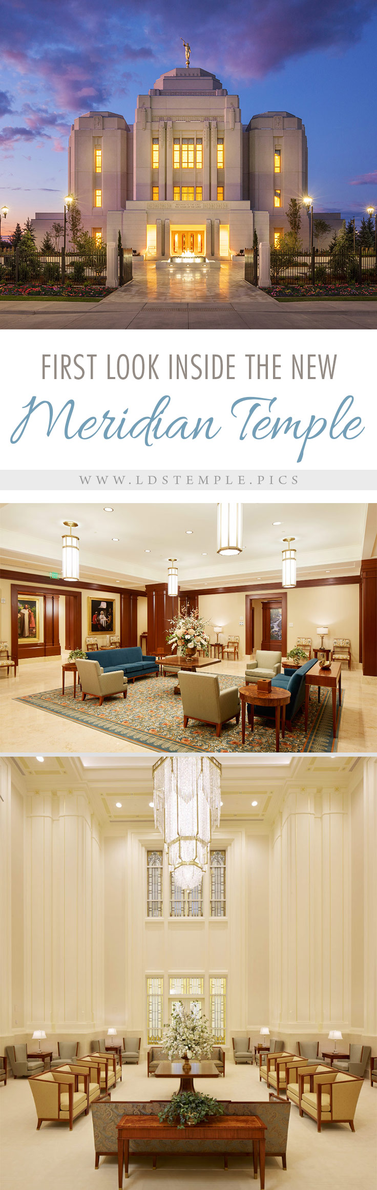 The First Look Inside The New Meridian Idaho Temple Lds