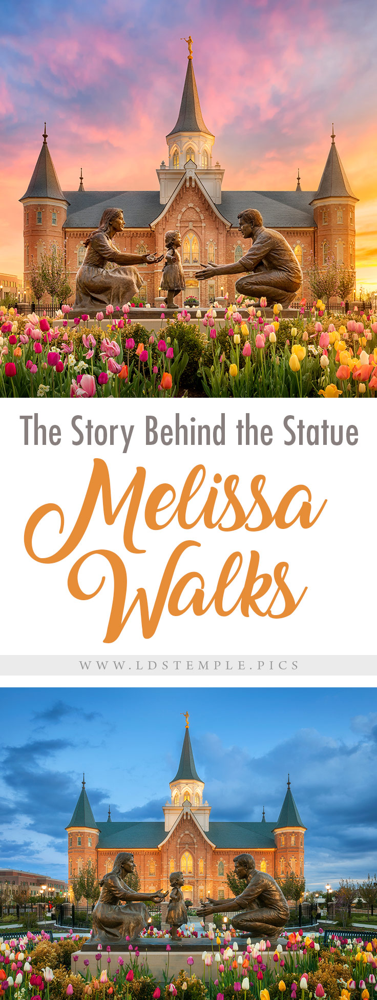 The Story Behind the Statue Melissa Walks