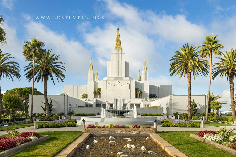 Oakland Temple Daytime Print