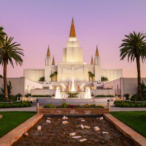 oakland-temple-dusk