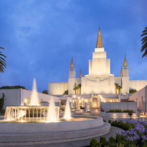 oakland-temple-fountain-twilight