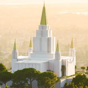oakland-temple-setting-sun
