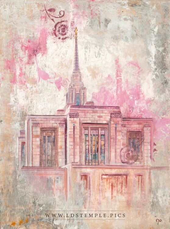 Ogden Temple Painting Print