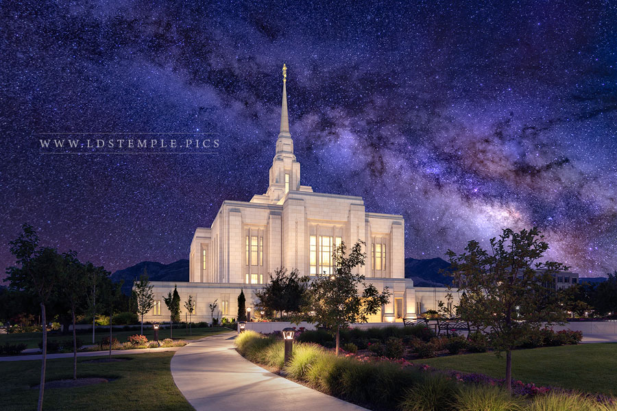 Ogden Temple Eternal Creations Print