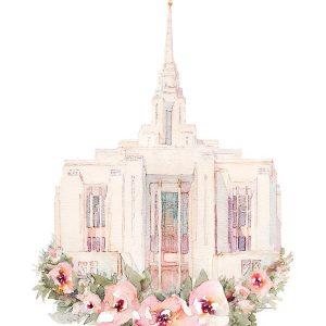 ogden-temple-floral-watercolor-painting