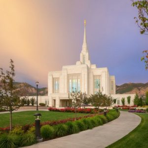 ogden-temple-sunset-glow