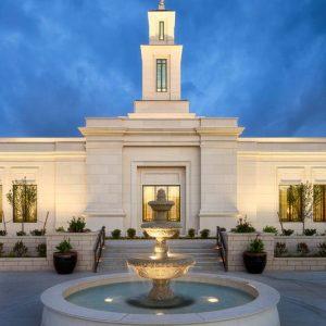 oklahoma-city-temple-fountain-twilight