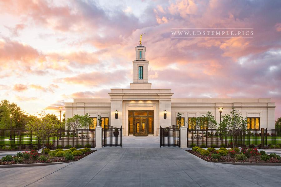Oklahoma City Temple Glory to the Highest Print