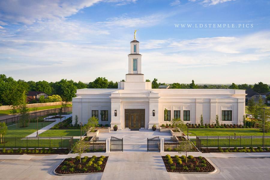 Oklahoma City Temple – Summer Morning