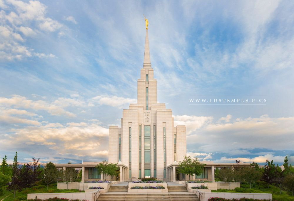 Oquirrh Mountain Utah Temple Morning Lds Temple Pictures