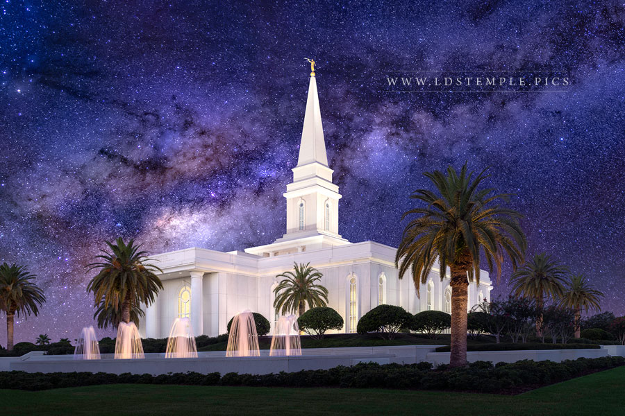 Orlando Temple Eternal Creations Print