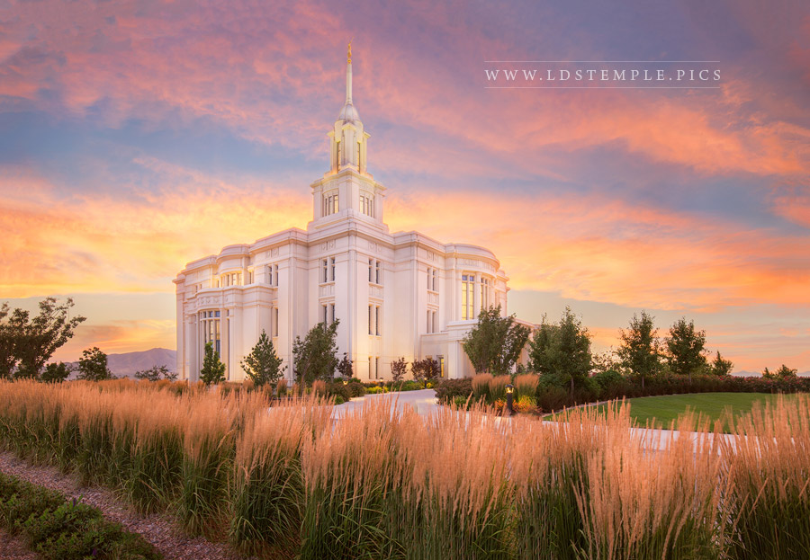 Payson Temple Eternal Peace Print