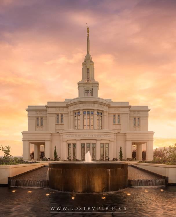 Payson Temple – Fountain