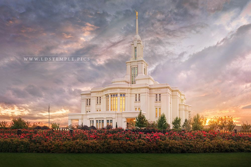 Payson Temple – September Sunset
