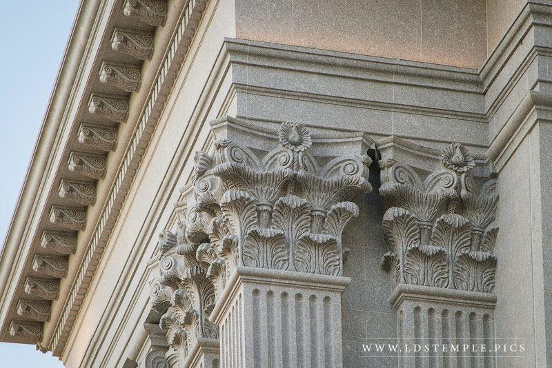 Details of the Philadelphia Temple