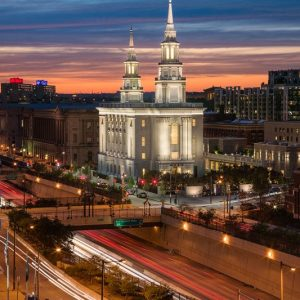 philadelphia-temple-twilight-in-the-city